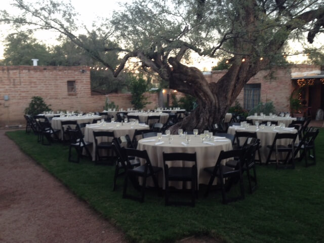 Backyard Catering Tucson Events